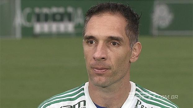 Prass comemora reformulação do Palmeiras e diz: 'Me sinto realizado por ter ficado'