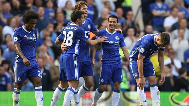 Assista aos melhores momentos da vitória do Chelsea sobre o Sunderland por 5 a 1