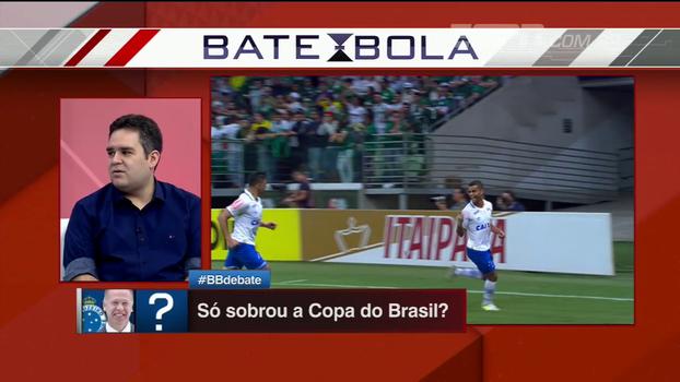 Bertozzi esperava mais regularidade do Cruzeiro: 'Em termos de taça, Copa do Brasil é a última chance'