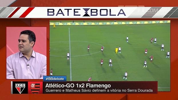 Para Bertozzi, erros individuais foram cruciais para desempenho ruim do Flamengo
