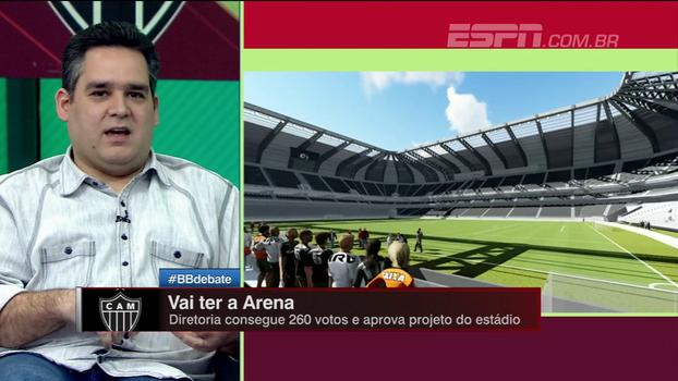 Bertozzi explica negociação e aprovação de estádio do Atlético-MG
