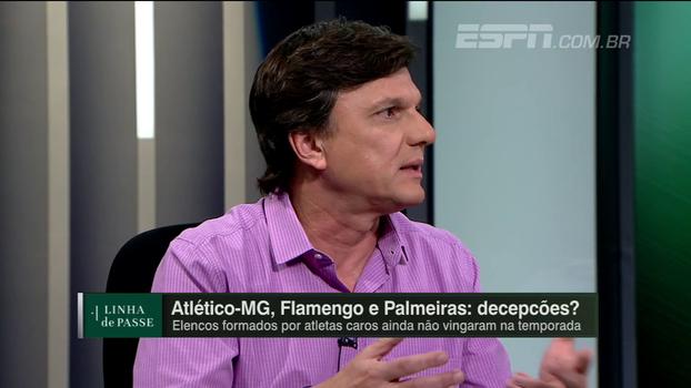 Mauro faz reflexão sobre o futebol brasileiro: 'Nos acostumamos com o nível baixo'