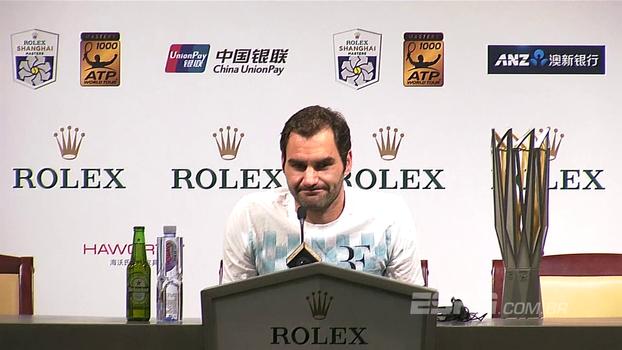 Após final em Xangai, Federer e Nadal comentam partida e momento da rivalidade