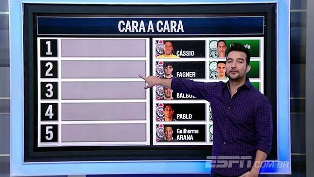 Cara-a-cara! 'Bate Bola na Veia' escolhe peças entre Corinthians e Palmeiras