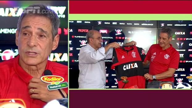 Carpegiani opina sobre possível volta de Adriano ao Flamengo