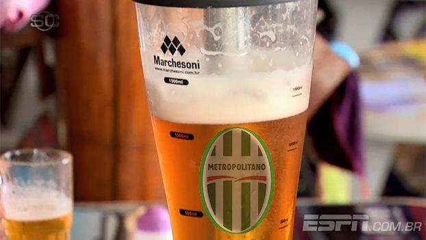 Sonho na Série D: Metropolitano aposta em 'promoção de cerveja' para lotar estádio e garantir vaga