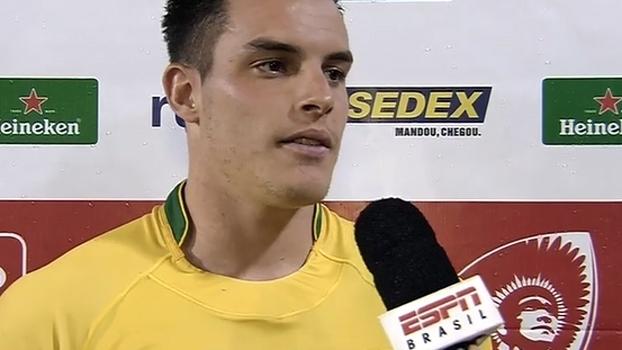 Full-back do Brasil comemora vitória sobre o Canadá e vê evolução do rugby no país