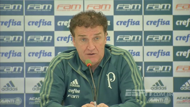 Cuca diz que jogadores podem dar mais e garante que fica até o fim do contrato no Palmeiras