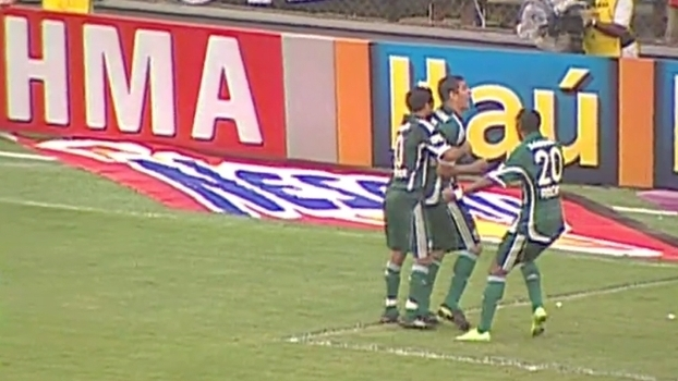 Com grandes atuações de Marcos e Diego Souza, Palmeiras virou sobre o Santos na Vila em 2009