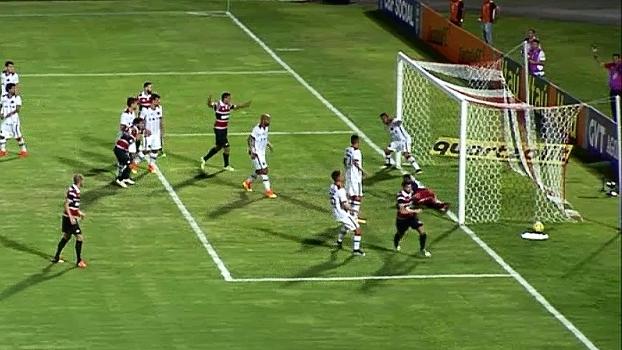 Brasileiro: Gol de Santa Cruz 1 x 0 Atlético-PR