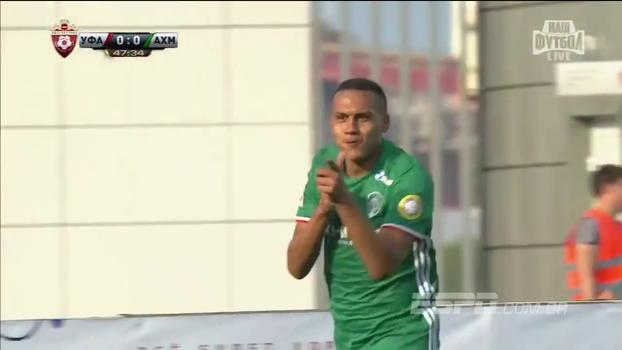 Léo Jabá marcou, mas Ufa venceu o Akhmat Grozny pelo Russo; veja