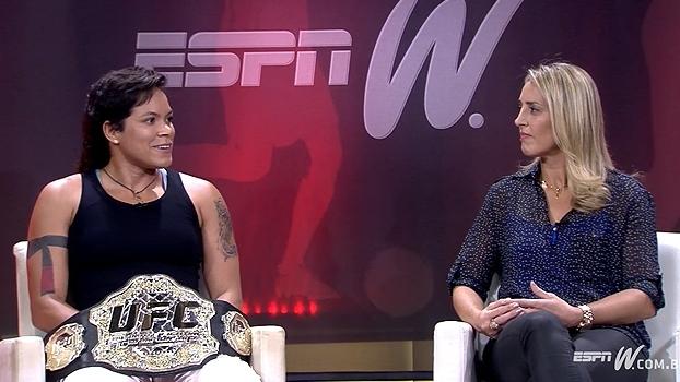 Amanda fala sobre preparação para a luta contra Ronda: 'Não via nada na internet'
