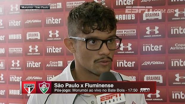 Antes de enfrentar São Paulo, Scarpa comenta cobrança por gols e pede atenção redobrada