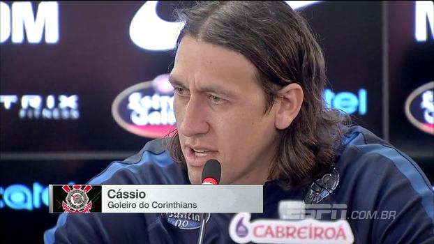 Cássio fala sobre levantar a taça de campeão pelo Corinthians: 'Passa um filme na cabeça'