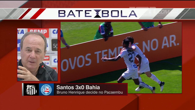 Após fazer 3 gols, Bruno Henrique ouve de Levir: 'Foi decisivo, mas um dos piores em campo'