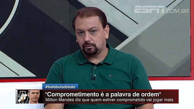 Alê e Bertozzi aprovam chegada de Milton Mendes no Vasco mas alertam sobre ambiente