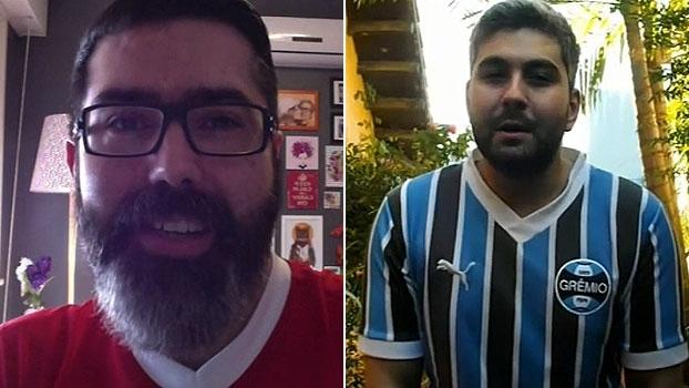 Blogueiros do 'ESPN FC' de Grêmio e Inter comentam áudio vazado de Argel: 'Combustível a mais'
