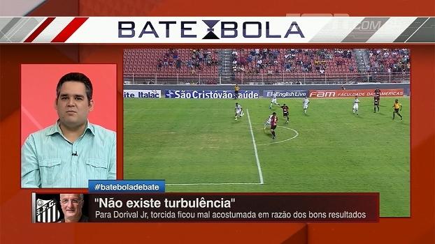 Após 3ª partida sem vitória no Paulista, Bertozzi e Alê Oliveira analisam momento do Santos