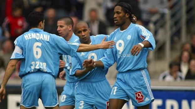 Drogba fez o dele e Olympique de Marselha bateu Lyon fora de casa em 2004