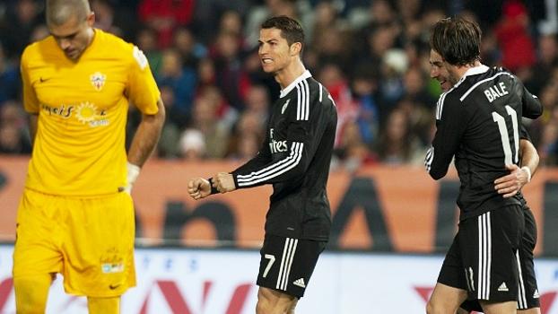 Veja os gols da vitória por 4 a 1 do Real Madrid sobre o Almería