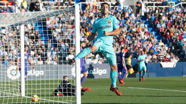 Confira os melhores momentos da partida Leganés 0 x 3 Barcelona pela LaLiga