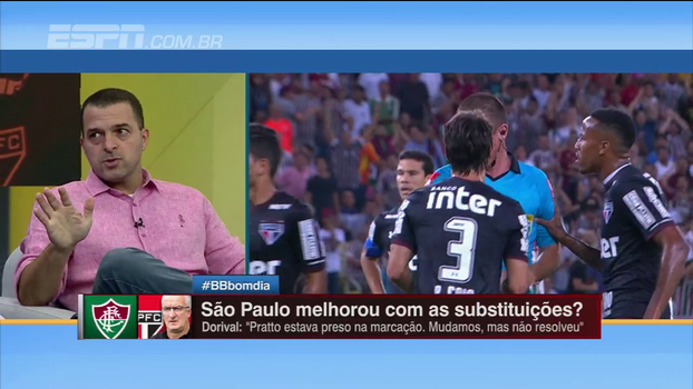Zé Elias corneta apatia do São Paulo e critica substituições de Dorival: 'Você não pode tirar o Pratto e o Cueva'
