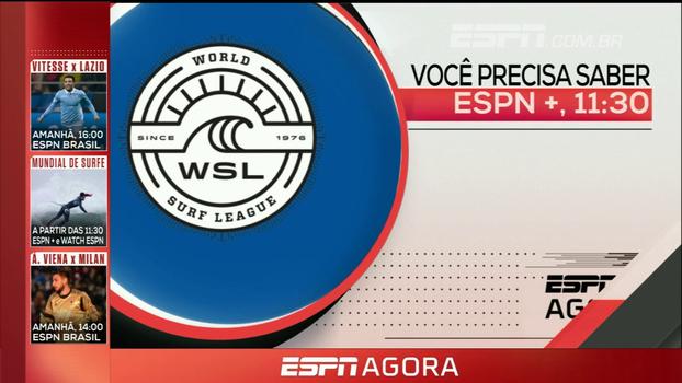 Surfe, beisebol, sub-20 e Counter Strike: veja o que assistir nesta quarta na ESPN