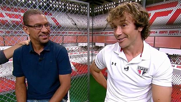 Lugano revela sofrimento com cavadinhas de Loco Abreu e demonstra no Resenha ESPN