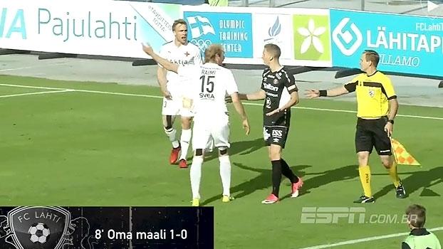 Falta de fair play gera confusão no Campeonato Finlandês
