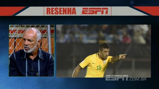 Otimista, Júnior vê seleção brasileira no caminho certo e elogia Tite