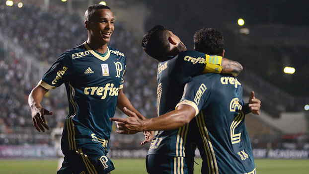 Brasileiro: Gol de Palmeiras 1 x 0 Coritiba