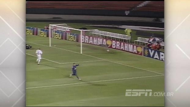 Deivid fez três, Alex deixou o dele e Cruzeiro bateu São Paulo no Morumbi em 2003
