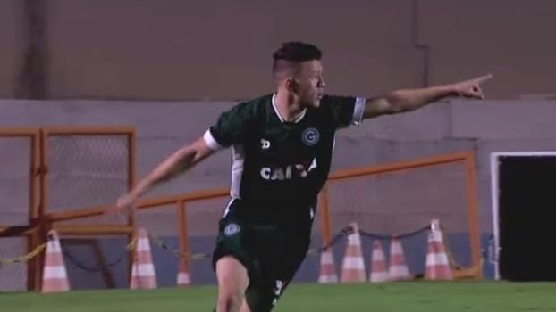 Assista aos gols do empate entre Goiás e Criciúma por 1 a 1!
