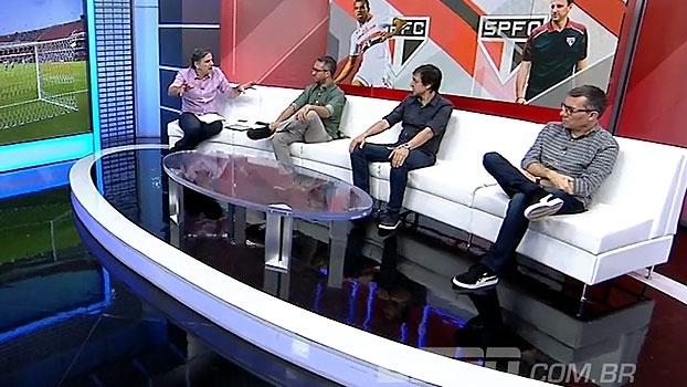 João 'Canalha' e Tironi debatem sobre cobrança em cima de Lucão