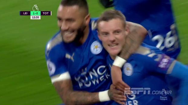 Premier League: Melhores momentos de Leicester 2 x 1 Tottenham