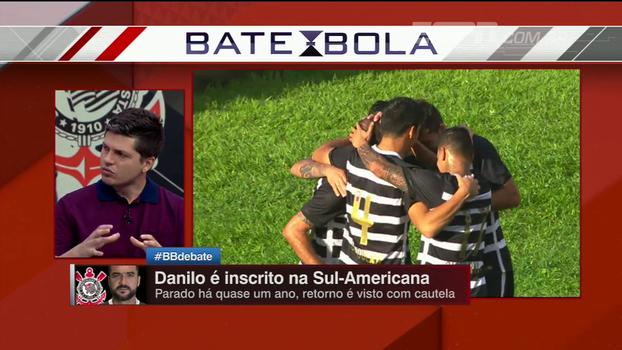 Para Ortega, inscrição de Danilo na Sul-Americana é também homenagem: 'Atitude que ganha grupo'