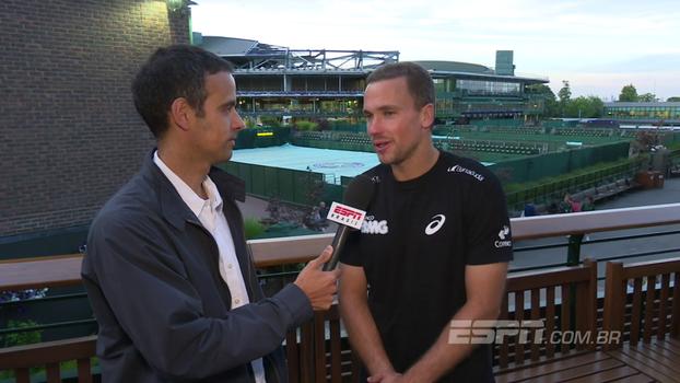 Bruno Soares se diz 'muito satisfeito' com participação em Wimbledon: 'Foi uma bela campanha'