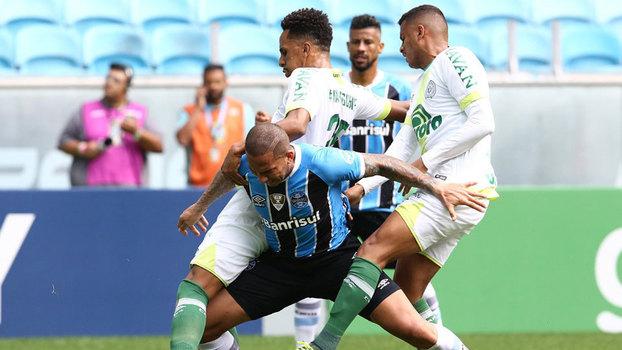Brasileiro: Gol de Grêmio 0 x 1 Chapecoense