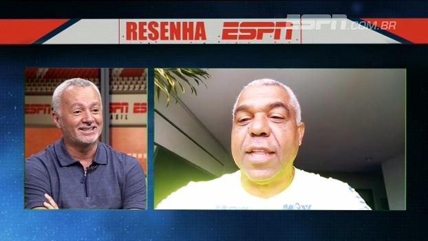 Bobô relembra Bahia x Inter de 88 e susto com macumba: 'Tinha um boi na porta do vestiário'