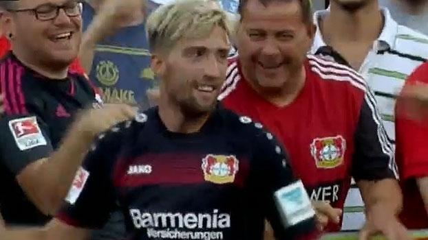 Ex-Bayern marca, e Leverkusen derrota Fiorentina em amistoso