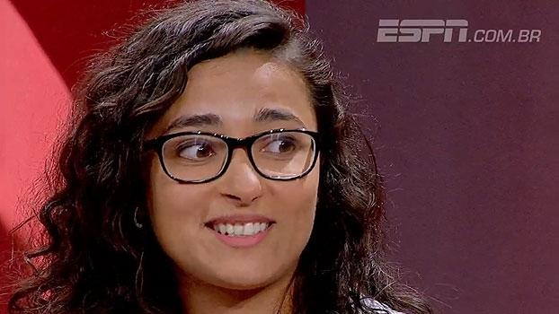 Árbitra de futebol americano destaca aumento de interesse de mulheres no Brasil: 'É um esporte democrático'