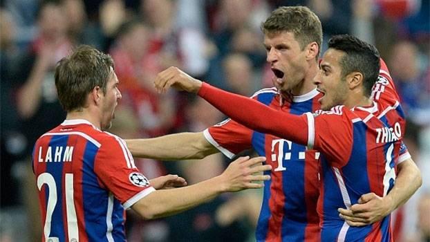 Champions League (quartas - volta): Gols de Bayern de Munique 6 x 1 Porto