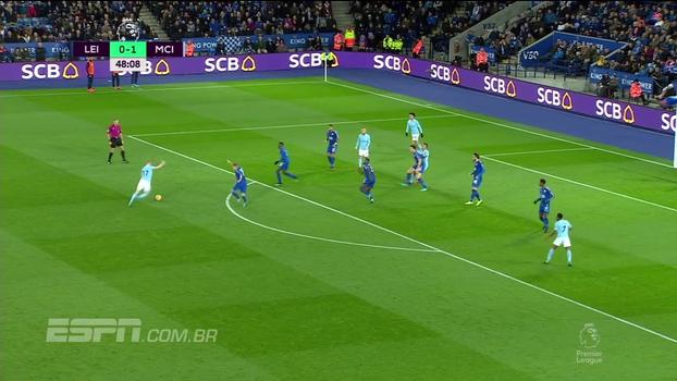 Tempo real: GOL do Manchester City! Ederson e bola na trave salvam e, no contra-ataque, De Bruyne faz golaço
