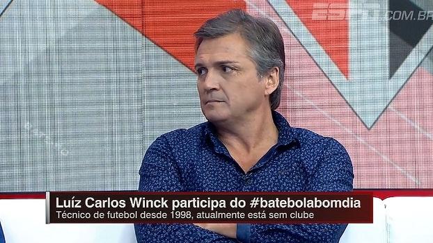 Winck condena postura de Ceni: 'Deveria agir com mais razão e menos emoção'