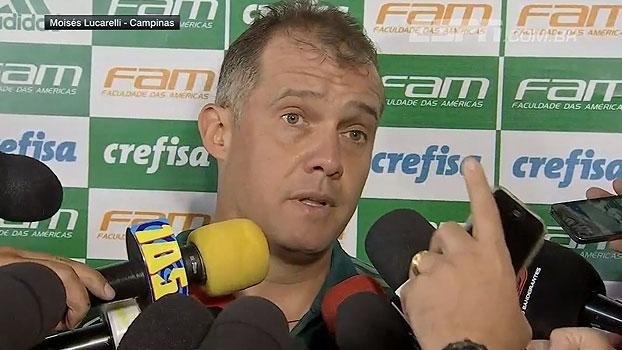 Eduardo Baptista critica postura 'passiva' do Palmeiras: 'Entramos sem reação'