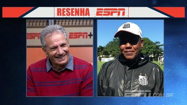 Falta de foco, confusões e 'baita de um artilheiro'; Zé Sérgio dá risada ao falar de Serginho Chulapa