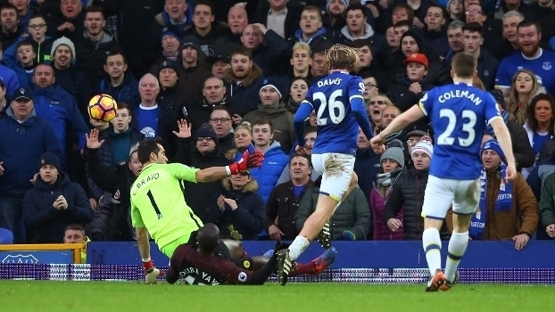 Premier League: Gols de Everton 4 x 0 Manchester City