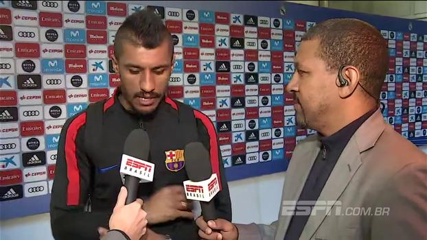 Paulinho explica como 'chega na área mais que Messi' no Barça