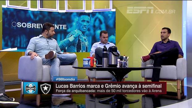 Breiller avalia como 'vergonha' Brasil ter só 1 time na semi da Libertadores; Marra: 'Precisa colocar a sandália da humildade'
