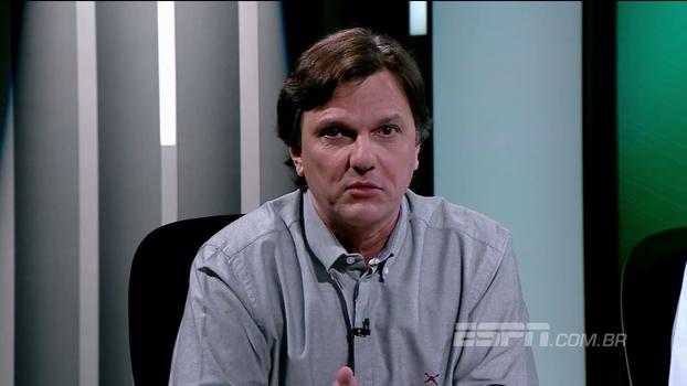Mauro reprova Fred no Flamengo e cita história do atacante com o Fluminense: 'Parece falta de imaginação'